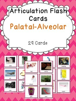 Apraxia & Articulation Cards Palatal-Alveolar