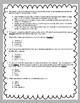 Pale Male Comprehension Test Standardized Test Style ReadyGen Grade 5