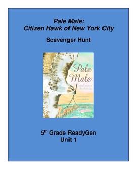 Pale Male Scavenger Hunt, 5th grade ReadyGen Unit 1