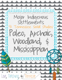 Paleo, Archaic, Woodland, Mississippian  - Tennessee NEW S