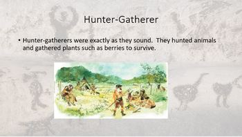 Paleolithic Age PowerPoint