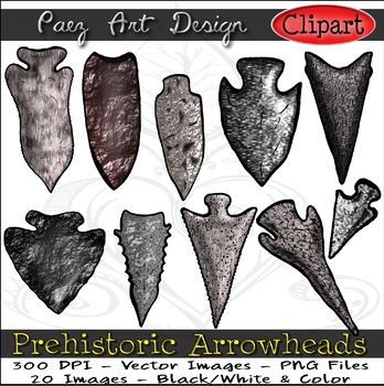 Paleolithic Arrowheads Clilpart