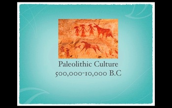 Paleolithic Culture Keynote Presentation