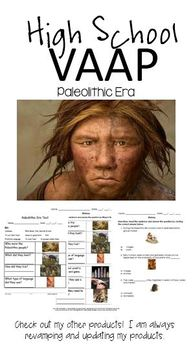 Paleolithic Era (Autism) VAAP HS-H 32  Assessment High School