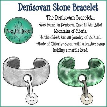 Paleolithic Jewelry CLIPART {Paez Art Design}