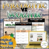 Paleolithic VS Neolithic Activity {Digital}