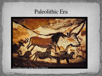 Paleolithic era power point