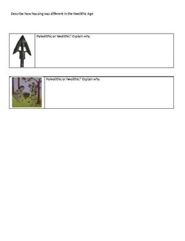 Paleolithic vs. Neolithic Quiz