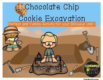 Paleontologist Chocolate Chip Cookie Excavation