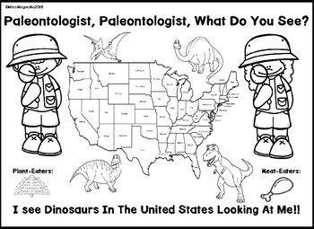 Paleontologist, What Do You See?  I See Dinos In the U.S. Looking At Me!