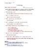 Paleontology Article (Level 1) Comprehension Worksheet