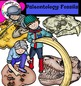 Paleontology-Fossils -Science clip Art - Color and B&W
