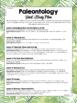 Paleontology Unit Study Lesson Plan