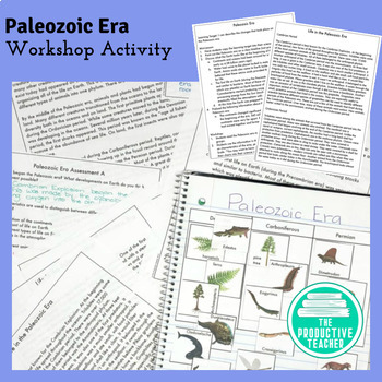 Paleozoic Era - Workshop Lesson and Reading Passage
