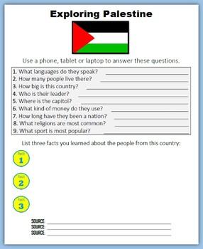 Palestine (Internet Research)