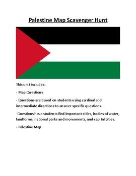 Palestine Map Scavenger Hunt
