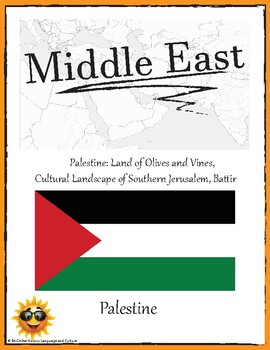 (ASIA GEOGRAPHY) Palestine: Palestine Land of Olives and Vines—Research Guide