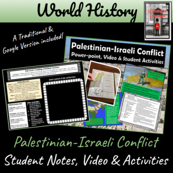 Palestinian-Israeli Conflict ~Power-point, Videos & Student Activities~