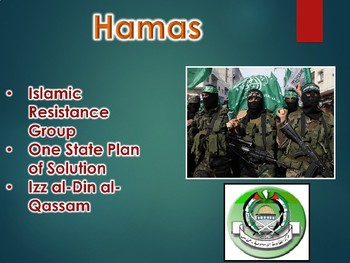 Palestinian-Israeli Conflict PowerPoint Presentation (World History)