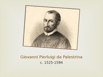Palestrina - Mini Composer Lesson
