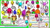 Paletas de helado (Popsicle) Clipart