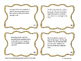 Palindromic Numbers Word Problems Task Cards