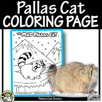 PALLAS CAT Coloring Page