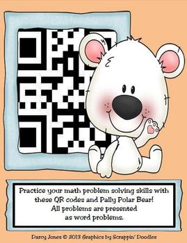 Pally Polar Bear's Problem Solving QR Codes
