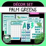 Palm Leaves Décor Set for Secondary Classrooms– 110+ Signs Posters