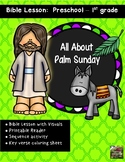 Palm Sunday Bible Lesson (All About Series Kindergarten/Pr