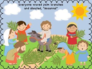 Palm Sunday Craft By Jannysue Teachers Pay Teachers