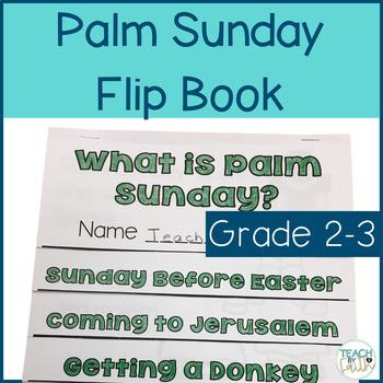 Palm Sunday Flip Book