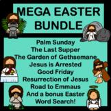 MEGA Holy Week and Easter Comprehension Tasks Bundle!