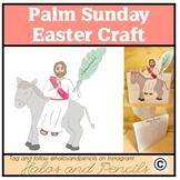Palm Sunday Holy Week Easter Craft Jesus Enters on a Donkey