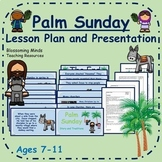 Palm Sunday Lesson Plan and PowerPoint - Grades 2 to 5