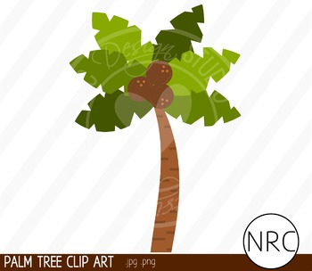 Palm Tree Clip Art - Commercial Use Clipart