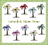 Palm Tree Clipart / Trees Clipart / Beach Clipart / Tropic