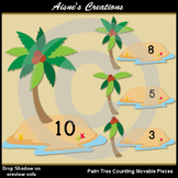 Palm Tree Counting Movable Pieces