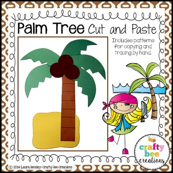 Palm Tree Cut and Paste