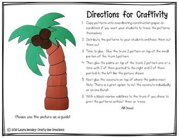 Palm Tree Craft