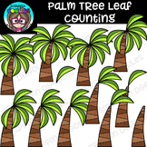 Palm Tree Leaf Counting Clipart {Scrappin Doodles Clipart}