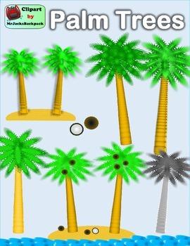 Clip Art - Palm Trees Clipart