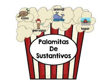 Palomitas de Sustantivos