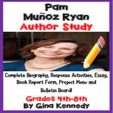 Pam Munoz Ryan Author Study, Biography, Reading Response, Projects, More