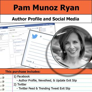 Pam Munoz Ryan - Author Study - Profile and Social Media