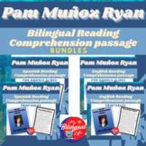 Pam Muñoz Ryan Bilingual Reading Comprehension Activity Bundle