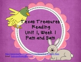 Pam and Sam Reading Activities - Texas Treasures