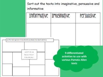 Pamela Allen text activites