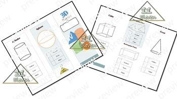 3D Shapes Pamphlet (English)