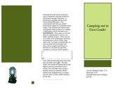 Pamphlet for Open House- Elementary/Middle School template
